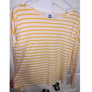 old navy striped long sleeve